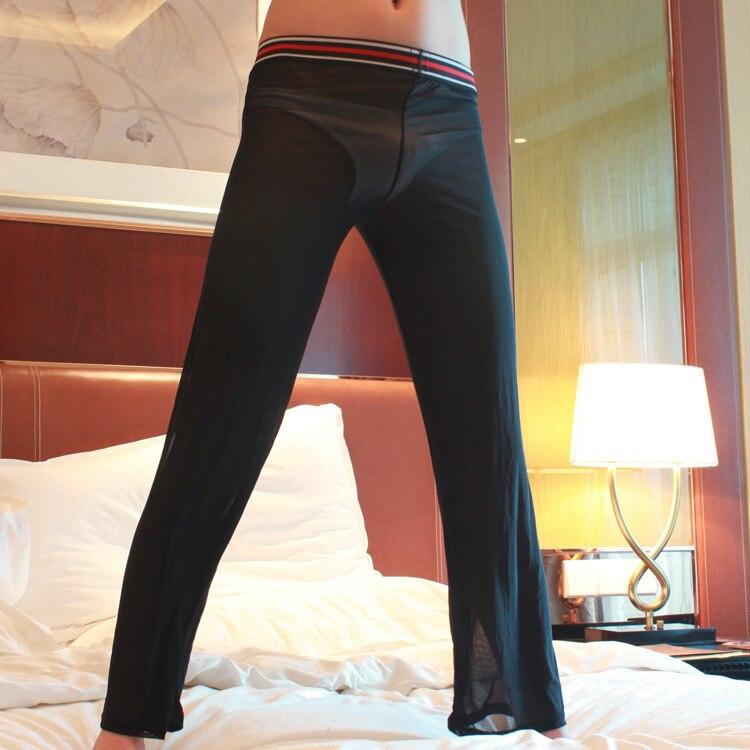 Mens See Through Yoga Pants