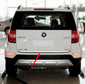 FIT FOR 2009-2015 SKODA YETI CHROME REAR TRUNK BOOT TAILGATE DOOR COVER TRIM MOLDING LID GARNISH STRIP Accessories