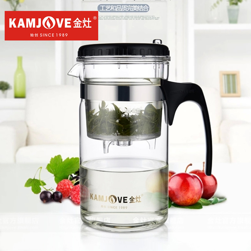 [GRANDNESS] TP-200 Kamjove Art Tea Cup * Mug & Tea Pot 1000ml glass tea pot kamjove Heat Resistant Glass Kungfu Teapot Piao Yi