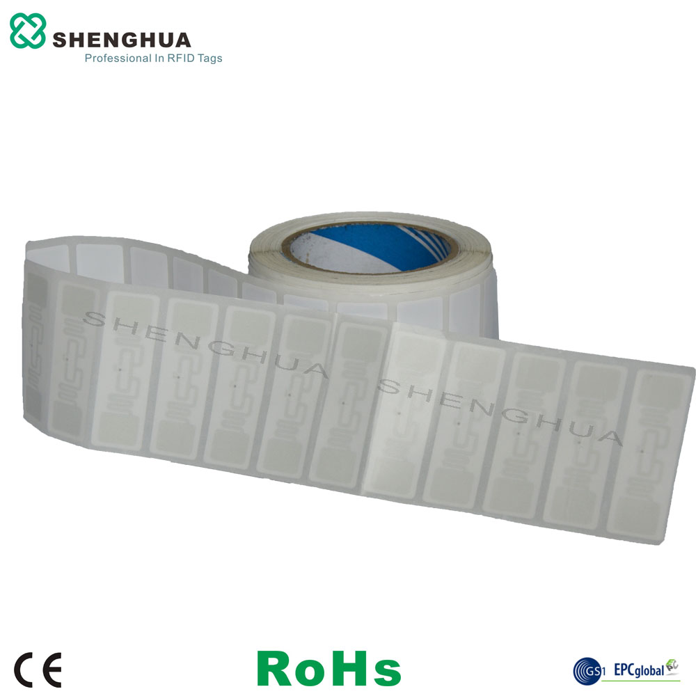 2000pcs/roll ISO 18000-6C Printable UHF Passive ALIEN H3 Smart RFID Label Paper Blank For Logistics Tracking Inventory Control