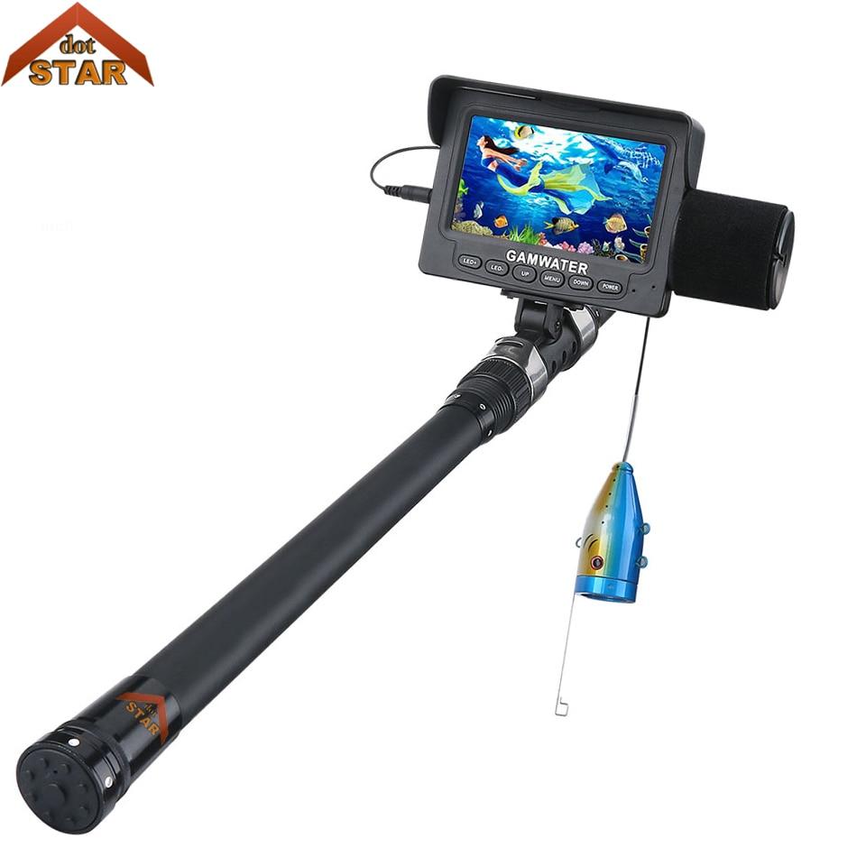 Stardot подводная рыболовная видеокамера 4,3 дюймов 1000tvl IR/белый светодио дный лед рыболовная камера рыбный искатель озеро под водой Рыбная кам...