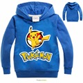 Pokemon Go 2016 Children Clothes Kids Baby Boys T Shirt Spring New Fashion Cartoon Boys Long Sleeve t shirts for girl t shirt