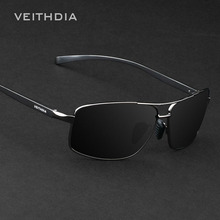 2017 VEITHDIA Brand New Polarized Men's Sunglasses Aluminum Sun Glasses Eyewear Accessories For Men oculos de sol masculino 2458
