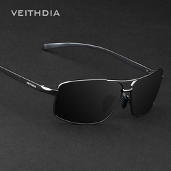 VEITHDIA Brand New Polarized Men's Sunglasses Aluminum Sun Glasses Eyewear Accessories For Men oculos de sol masculino 2458