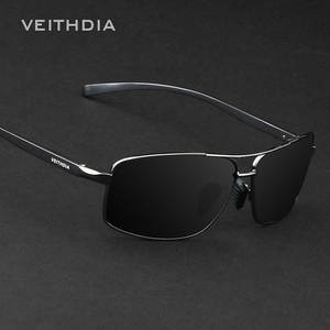 VEITHDIA Polarized Sunglasses Aluminum Sun Glasses For Men