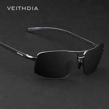 VEITHDIA Brand New Polarized Men's Sunglasses Aluminum Sun Glasses Eyewear Accessories For Men oculos de sol masculino 2458 - DISCOUNT ITEM  41% OFF All Category