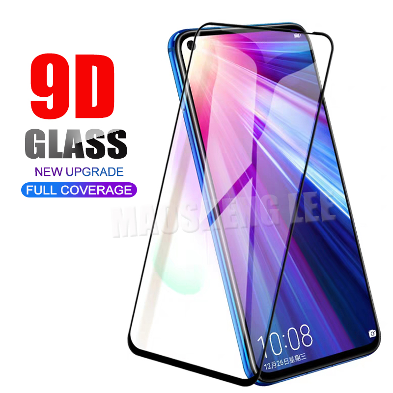 New 9D Tempered Glass For Huawei Honor 20 Pro View 20 Screen Protector Full Cover Tempered Glass For Huawei Honor V20 Glass Film