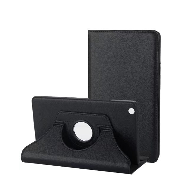360 Degree Rotating Smart PU Leather Case For Huawei Mediapad M3 Lite 8.0