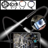 Gizcam 3 5m 7mm OTG Micro USB Android Endoscope Camera Waterproof Tube Pipe Snake Industrial Inspection