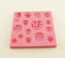 16 buttons of liquid silicone fondant cake mold cake decoration mold liquid silicone mold giantvape lemon cake e liquid
