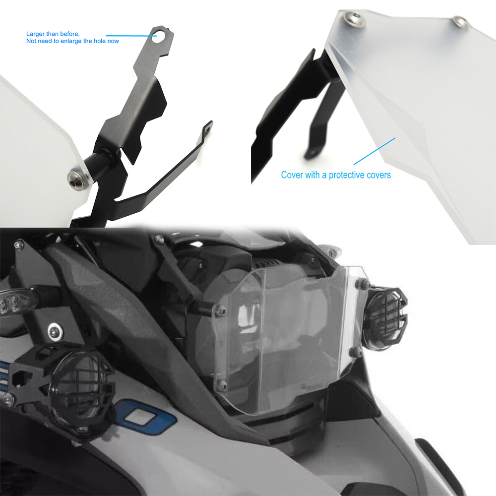 For BMW R1200GS Headlight Protector Guard Lense Cover for BMW R 1200 GS Adventure 2013 2014 2015 2016 after market baellerry small mens wallets vintage dull polish short dollar price male cards purse mini leather men wallet carteira masculina