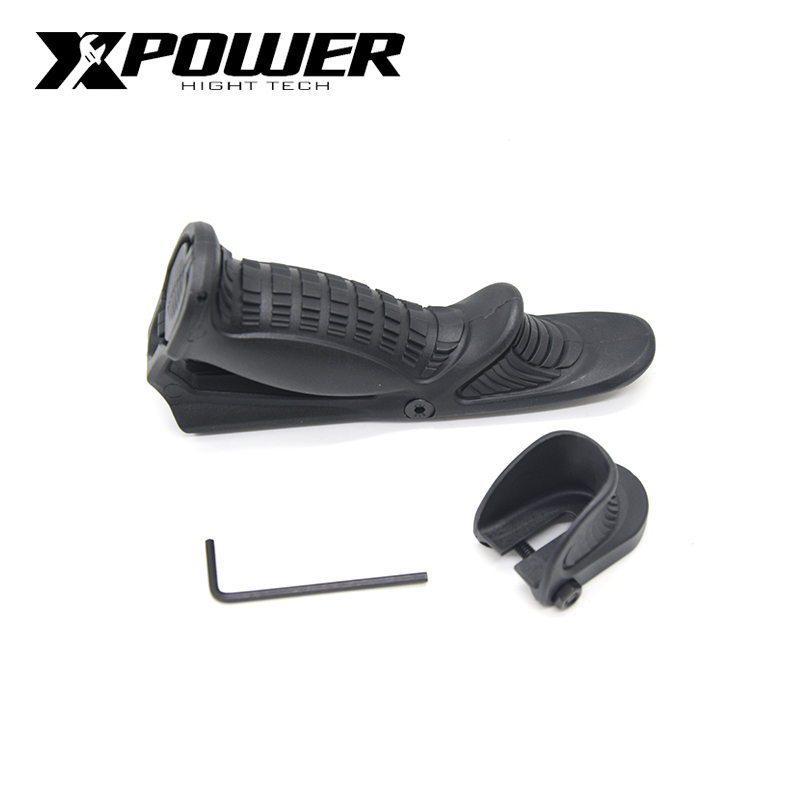 XPOWER Handle Grip For Tactical Paintball Gel Blaster Airsoft AEG Hunting Accessories J9 Gearbox