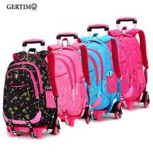 Rolling Backpacks School Bagpack Sac a dos Children Bags Bolsa Infantil School Bags for Girls Schoolbag Back to School Backpacks цена 2017
