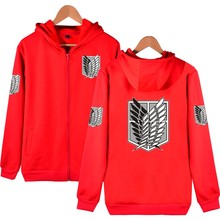 Attack On Titan Print Women Men Hoodie