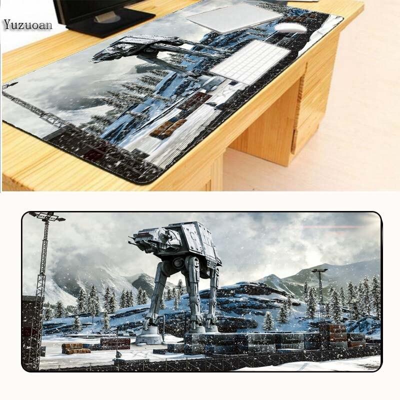 Yuzuoan Star Wars Battlefront компьютера большой стол Мышь pad игровой коврик Мышь locrkand геймер к клавиатура Мышь коврик бесплатная доставка