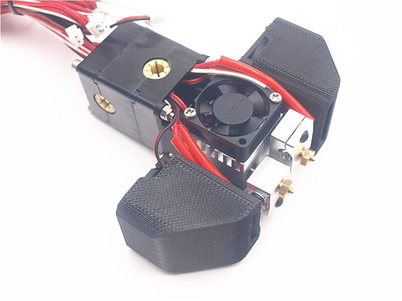 Funssor Ultimaker chimera hotend upgrade conversion kit adapter for Ultimaker 2 3D printer parts 1.75mm/3mm цена 2017