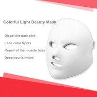 Face care 7 Colors Light Photon LED Facial Mask Skin Rejuvenation Beauty Therapy Beauty Instrument LED Facial Mask face massage