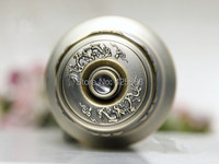 Hot Znic Alloy Round Ball Locks Door Handle Lock Diary With Key Push Lock Latch Antique