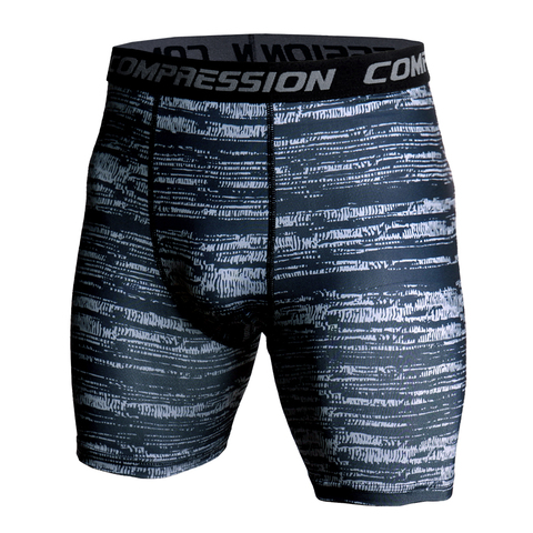 Men Compression Under Layer Short Pants Fashion 3D Print Camouflage Athletic Tights Shorts Bottoms Skinny Shorts Men Bottom Karachi