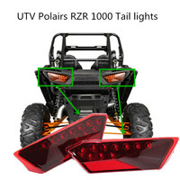 1 Pair Left Right Tail light Taillight Turn signal light for Polaris RZR900 RZR1000 RZR4 900 1000 14 16 2412341 2412342