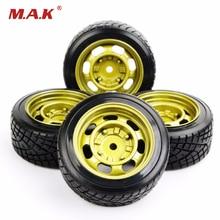 RC Drift Tires Wheel Rim Model Toys For  HSP HPI 1/10 On-Road Car Model Accessory PP0290+PP0147   4pcs/set