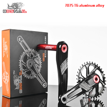 Bicycle Crank Crankset arm kit gear MTB Mountain Bike Crankset Aluminum Bike Crank Sprocket set and Bottom Bracket Kit 170mm 2017 new ultra light carbon fiber bicycle crank mtb road bike crankset mountain bike crank length 170mm 175mm bcd 104mm
