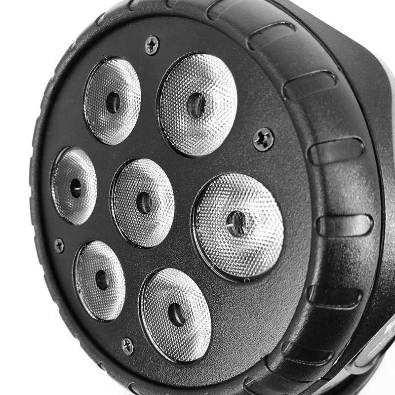 Leds Welligkeit 40 Strahl Winkel Objektiv Für Professionelle Beleuchtung Bühne LED 7x12w Moving Head Licht Disco DJ atmosphäre Von Musik Party
