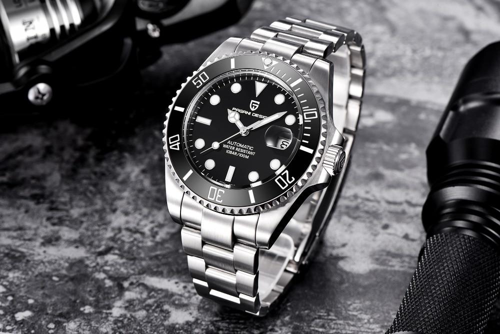 HTB1NWczafvsK1RjSspdq6AZepXaV 2019 NEW PAGANI DESIGN Brand Luxury Automatic Mechanical Watch Men stainless Steel Waterproof Business Men's Mechanical Watches