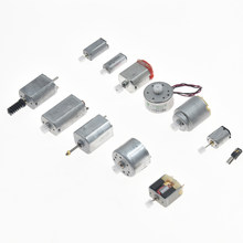 12pcs Micro Mini Gear Gearbox DC Motor Four Wheel Driver Car Robot Plane DIY Model Craft Making Toolkit Child Experiments Tools(China)