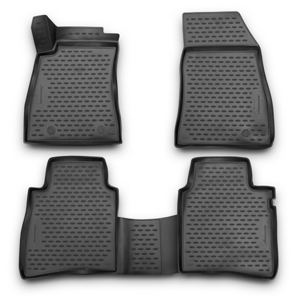 For Nissan Sentra B17 2014-2019 3D floor mats into saloon 4 pcs/set Element NLC3652210K