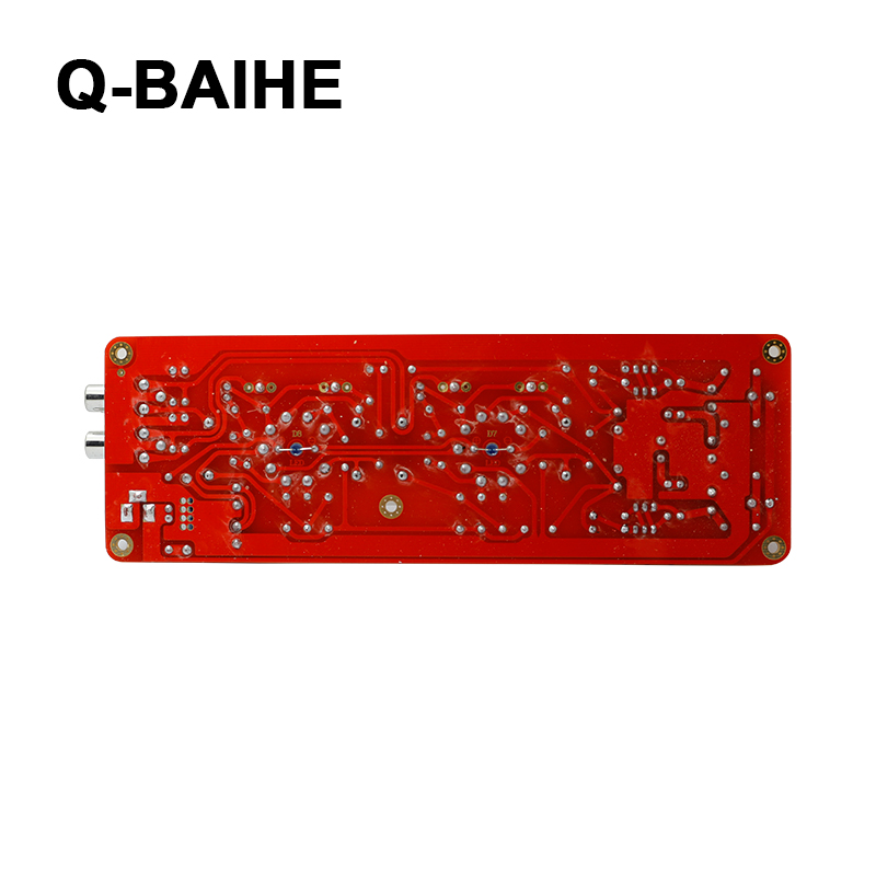 Q-BAIHE 6j1/Valve Tube de Pr/éampli Pr/éampli assembl/é Board Audio Musical Fidelity