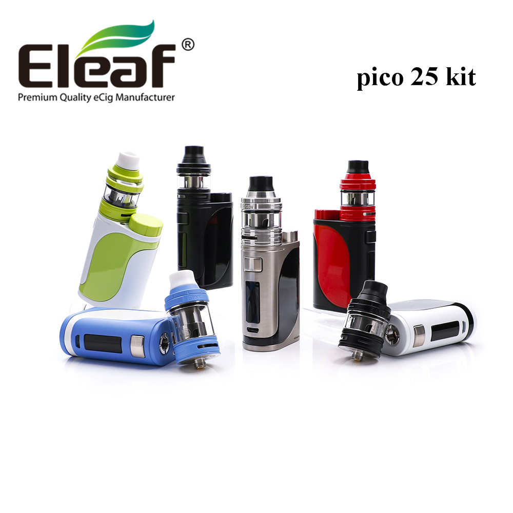 original Eleaf iStick Pico 25 kit with ELLO Full Kit 85W istick pico 25 mod 2ml ELLO tank with HW coil e cigarette vape starter original eleaf invoke 220w with ello t tc kit with 2ml ello t tank extendable to 4ml
