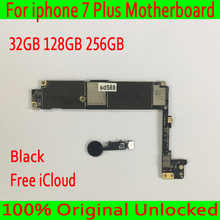 Для iphone 7 Plus 5,5 дюйма материнской Оригинал открыл для Apple iphone 7 Plus платы с Touch ID для iphone 7 P материнскую плату