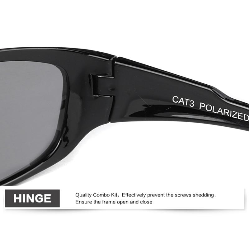JIANGTUN Nova Moda Polarizada Óculos De Sol Dos Homens Das Mulheres  Designer De Marca Oculos Sporting óculos de Sol Óculos Pernas de Borracha  em Óculos de ... d1385725a7