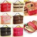 2016 New  Multifunction Makeup Organizer Bag Women Cosmetic Bag Travel Bag Handbag Lady Bolsas Women Bag