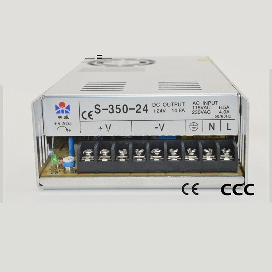ac to dc 12V 29A 350W S-350-12 /rippIe noise firm Standard IED/3d printer CE Ied driver source swtching pwer supIy voIt ac to dc direct quaiity watts 480w 48v 10a dr 480 48 draii singie output ce ied driver source swtching pwer supiy voit