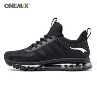 Onemix High Top Men Running Shoes Shock Absorption Sports Sneaker Breathable Light Sneaker For Outdoor Walking