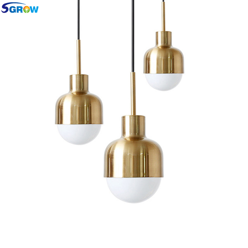 SGROW Modern Art Pendant Light Fixture for Bedroom Living Room Dining Room Loft Industrial Hanging LED Lamp Lights With E27 Bulb vintage iron spider pendant light loft country industrial lamp modern led e27 with 9 15 21 lights for hotel living room bedroom