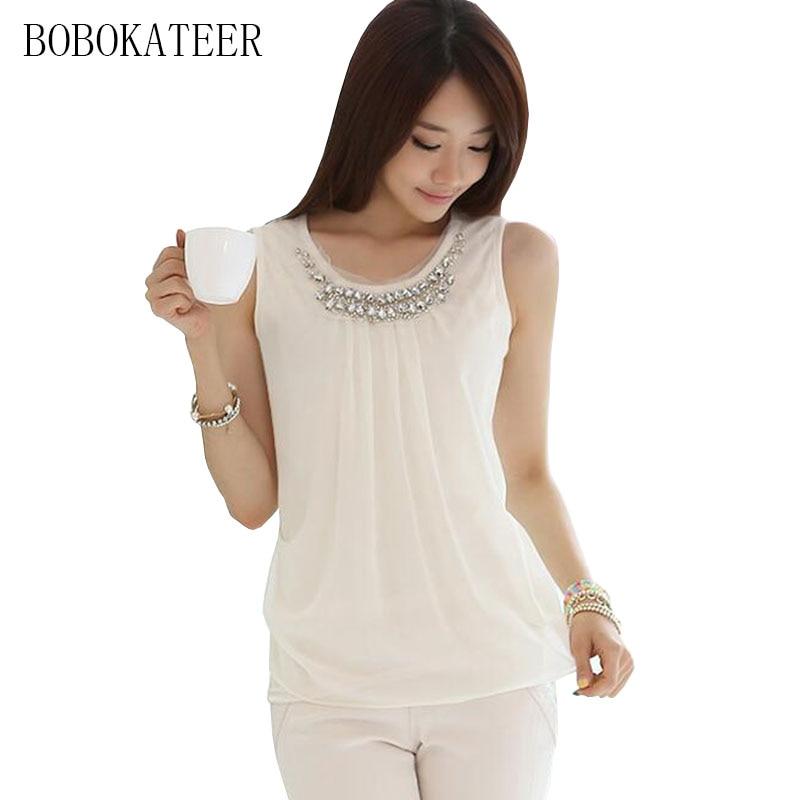 BOBOKATEER fehér póló Női póló Nyári pólók 2018 alkalmi - Női ruházat