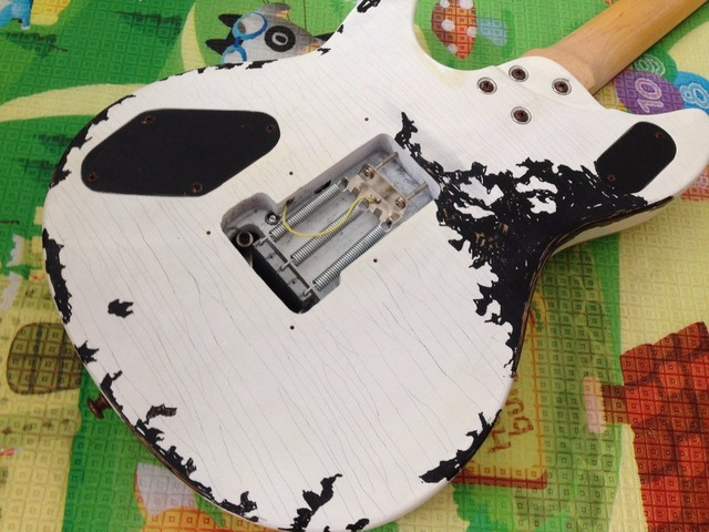 EVH wolfgang  Electric Guitar FBC-124 Relic 100%  Handmade White Color Real Photos 1