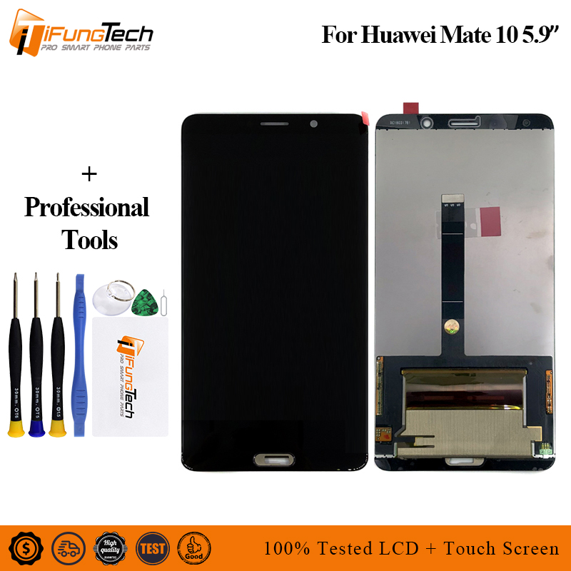 For Huawei Mate 10 ALP-L09 ALP-L29 LCD Display Digitizer Touch Screen Panel Glass Assembly With FrameFor Huawei Mate 10 ALP-L09 ALP-L29 LCD Display Digitizer Touch Screen Panel Glass Assembly With Frame