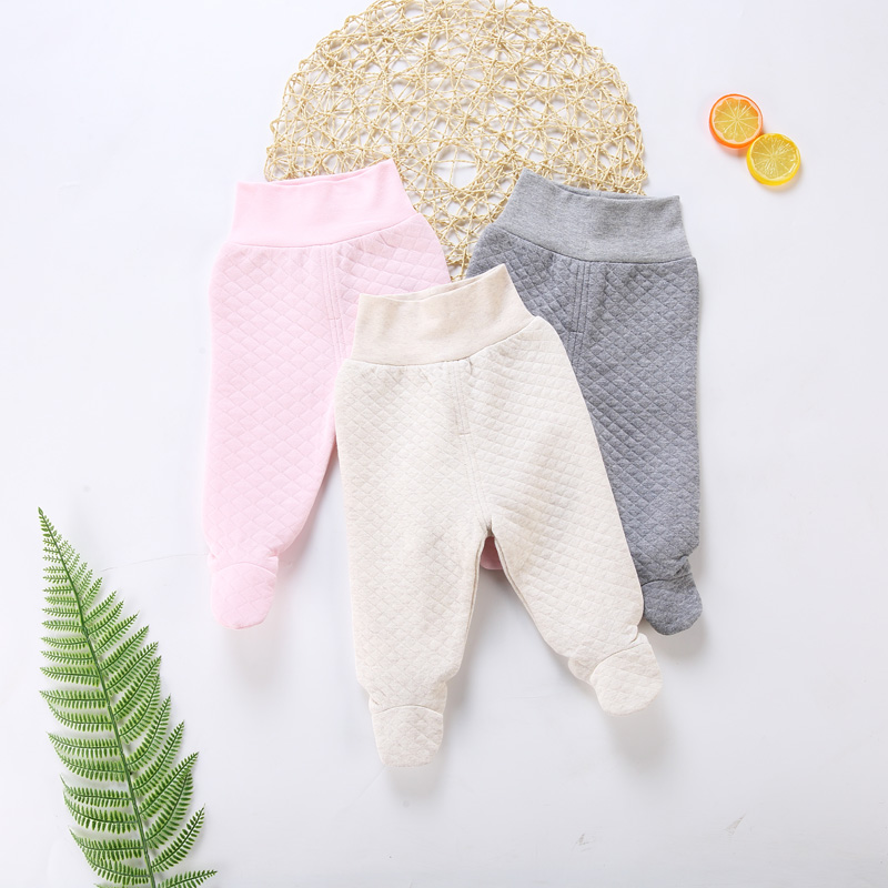 Infant Leggings Pants Baby Trousers Newborn Clothing Girls Children 100%Cotton High High-Elasticity