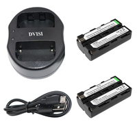 2pcs Lot NP F550 NP F550 NPF550 Batteries And USB Dual Charger For Sony NP F570