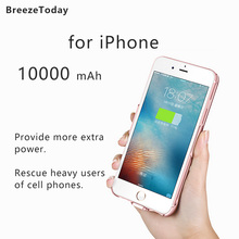 Battery Charging Case Power Case Charger Case Battery Case For iPhone 6 Plus 6S Plus 7 Plus 8 Plus Power Bank чехол аккумулятор