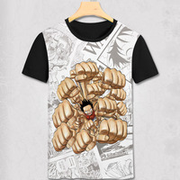 one piece t shirt one piece anime newest t-shirt