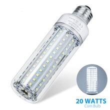 E27 Lamp Dimmable Led Light 85-265V Corn Bulb 5W 10W 15W 20W Cron SMD2835