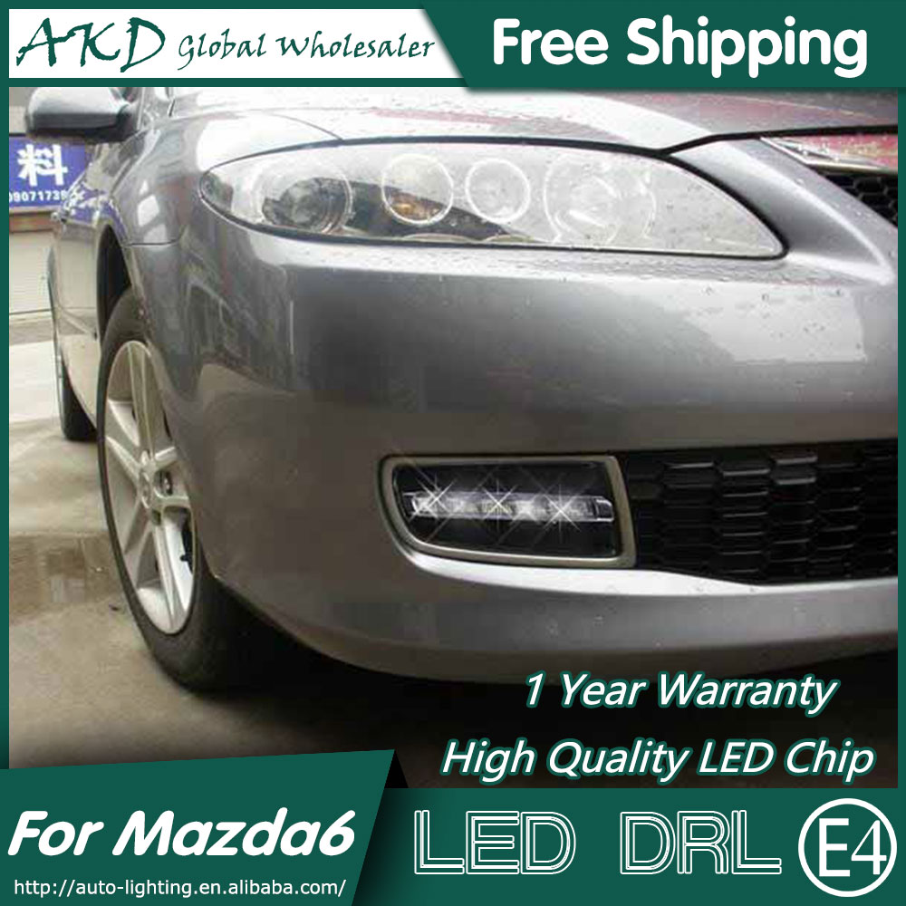 Akd car styling for mazda 6 drl 2006-2012 mazda 6 led drl...