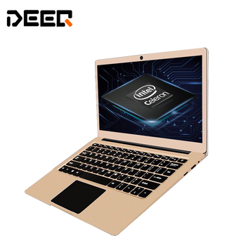 Windows10 13.3inch Metal Laptop 4G+128G EMMC In-tel Z8350 8000mah high battery HDMI WIFI notebook Computer bluetooth 1920*1080P