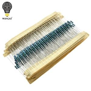 300 600 PCS /Set 1/4W Resistance 1% 30 Kinds Each Value Metal Film Resistor Assortment Kit resistors 100R 1K 47K 10K 100K 4K7