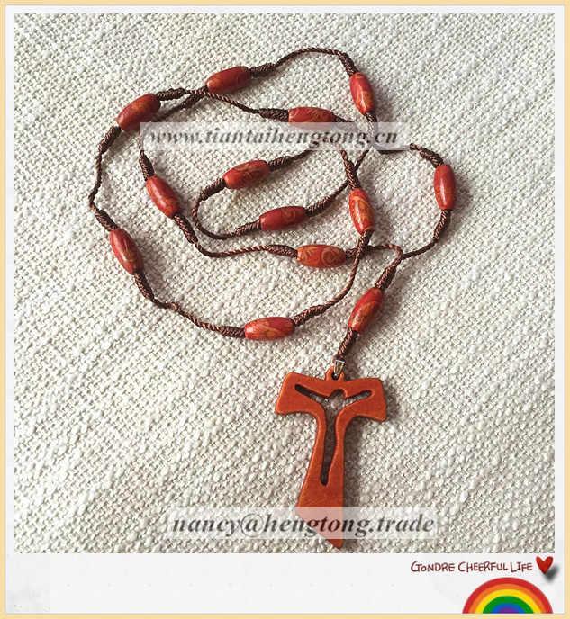 Cheerful Rainbow Rope Rosary